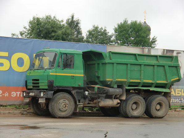Самосвал с кормовой разгрузкой TATRA T815-2 S1 26 6х6.2. Минск. 16.07.2011