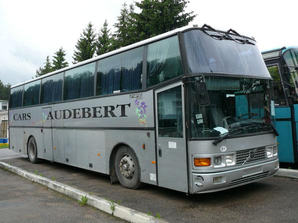 Туристический автобус Berkhof Excellence 2000 на шасси Volvo B10M (1988 года выпуска). Минск. 13/06/2009