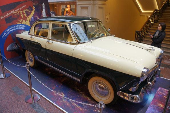 Легковой ГАЗ-М-21 «Волга» (1956-1970 г.). Всего выпущено 638 875 автомобилей