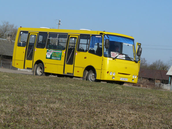 """Автобус A09201 """"Радимич"""". 05/04/2009"""