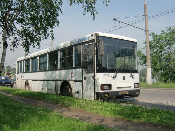 Междугородный автобус Волжанин-527022. Москва. 02/06/2010