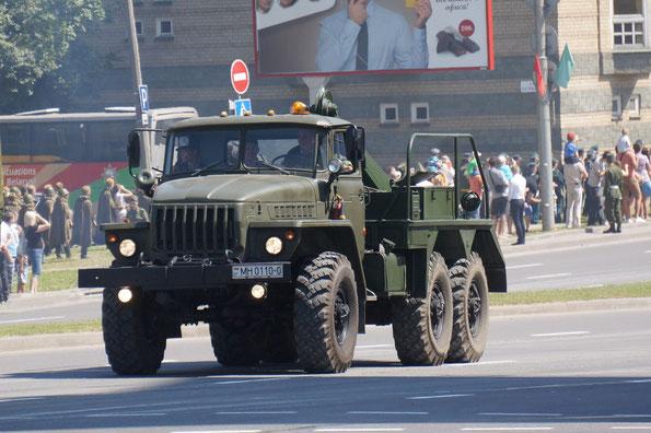 Эвакуационный тягач КЭТ-Л  (ТК5ВМ) на шасси Урал-4320 ()