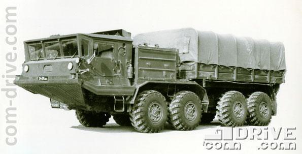 БРЯНСКИЙ АВТОМОБИЛЬНЫЙ ЗАВОД. БАЗ-6953 - полноприводный колесный тягач типа 8х8. Количество модификаций: 1