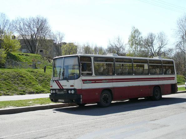 Междугородный автобус Ikarus 256.75. Минск. 14.07.2007