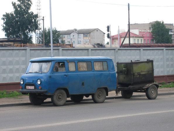 УАЗ-2206. Полоцк. 22.04.2007