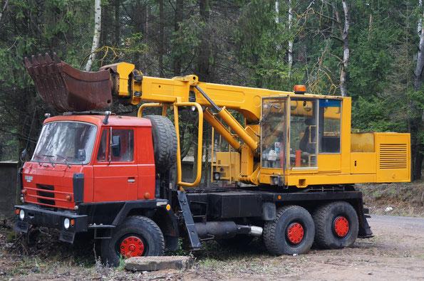 Шасси TATRA T815-2 P2 6Х6.2. Поселок Боровая. 08/11/2013