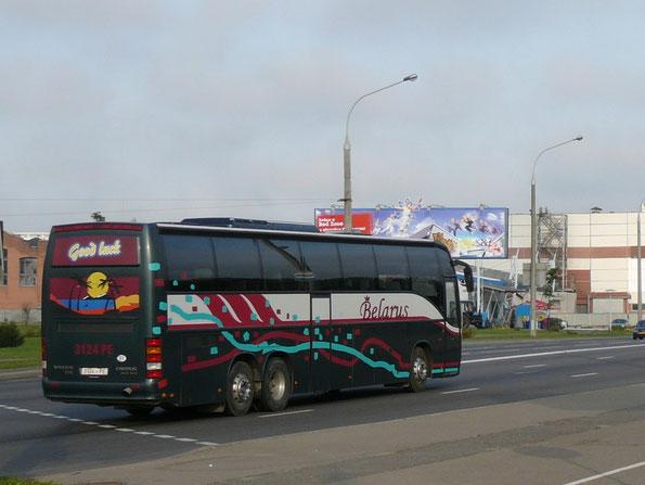 Carrus Star 602 с колесной формулой 6х2. Минск. 12.09.2012