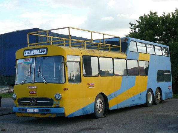 Автобус Ludewig Aero 1 на шасси Mercedes-Benz O317. Минск. 02/08/2007