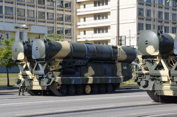 Пусковая установка 9А82 ЗРС С-300В