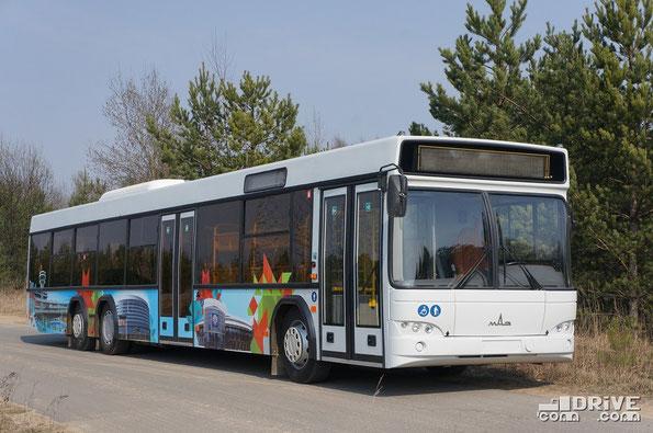 Предполагается, что минскому перевозчику будет поставлено около 10 таких МАЗ 107569