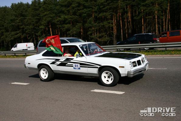 Pontiac Ventura. Двигатель объемом 5,0 литров