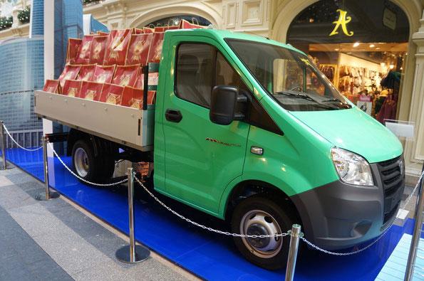 Новая «полуторка» ГАЗ-A21R22 «ГАЗельNext». Производство стартовало в апреле 2013 года