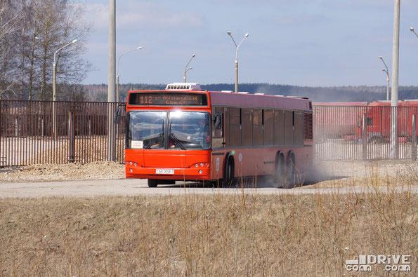 МАЗ 107468. Район трассы М1, Брест-Москва.