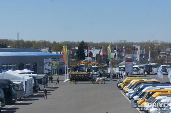VII Международный автотранспортный фестиваль «Мир автобусов-2014». 23-25 апреля 2014