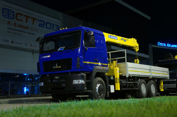 Модель КМ-R416Y5-SCS736LII на шасси МАЗ-6312B5-8429-012