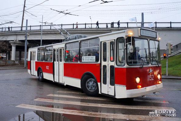 Троллейбус ЗИУ-682В (В00) 1980 года. Заводской №14134. Москва. 16/11/2013