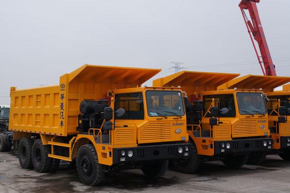 Карьерные самосвалы CAMC HN3600. Завод CAMC (Китай). 28.02.2012