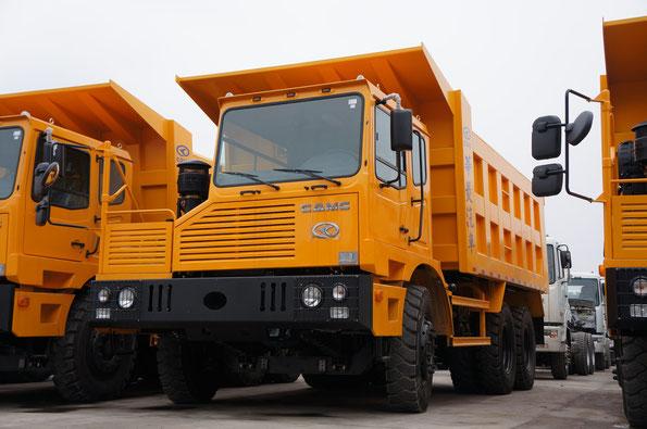 Карьерный самосвал CAMC HN3600. Завод CAMC (Китай). 28.02.2012