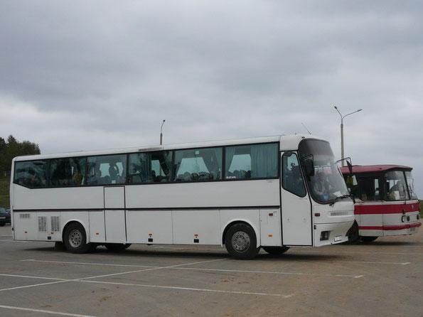 "Туристический автобус Bova FHD12 Futura. Комплекс ""Линия Сталина"". 14.10.2006"