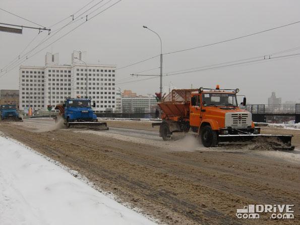 Минск. Зима 2010-го...