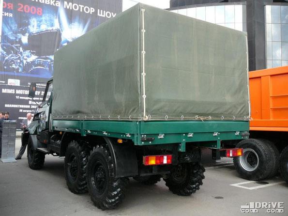 Автомобиль с бортовой платформой Амур 531325 (531330). «Интеравто-2008»