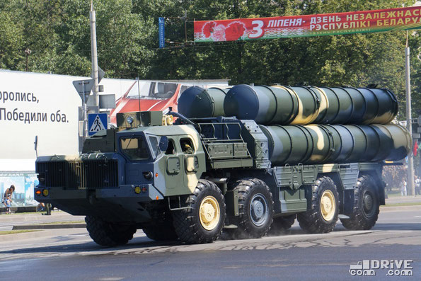5П85Д ЗРС С-300ПС на шасси МАЗ-543М. Минск. 03.07.2013