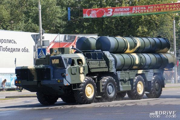5П85Д ЗРС С-300ПС на шасси МАЗ-543М. Минск. 03/07/2013