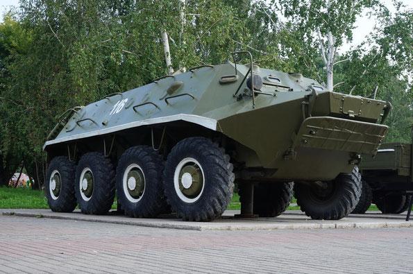 Колесный бронированный транспортер БТР-60ПА. Фото Анны Завьяловой