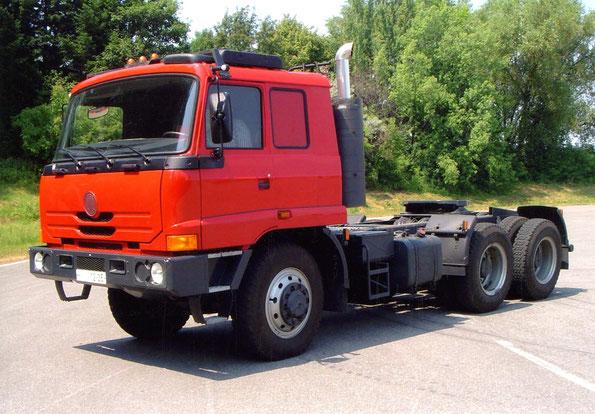 Седельный тягач TATRA T815-290NT 6х6.2. Фото фирменное