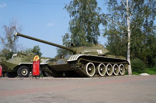 Средний танк Т-54. Фото Анны Завьяловой