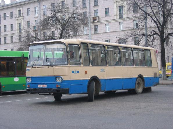 Междугородный автобус Autosan H9-20. Фото Сергея Филиппова. Минск. 14.10.2006