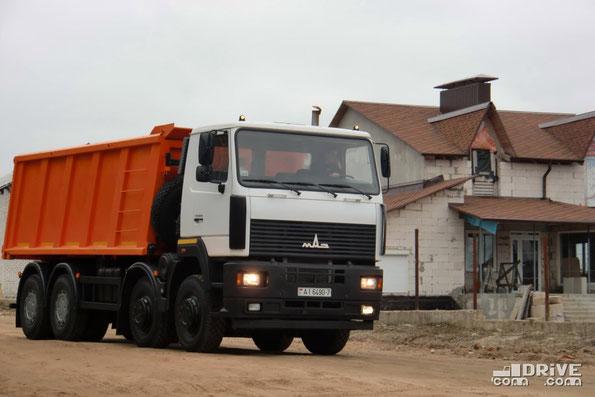 Самосвал МАЗ-6516В9. 08.04.2010