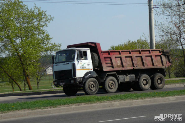 Самосвал МЗКТ-65158. Минск. 04.05.2009