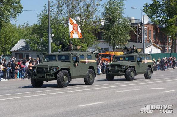 Специальное транспортное средство на базе ГАЗ 233014 Тигр