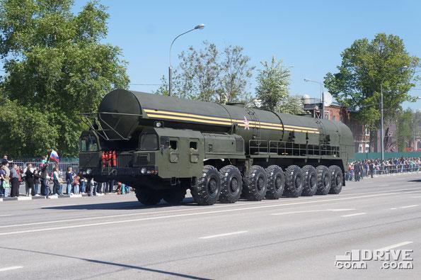 Боевая машина сопровождения 15Т418 на шасси МЗКТ 79221. Исползуется в качестве агрегата сопровождения колонны технического замыкания ПГРК 15П165 Тополь-М или ПГРК 15П155М Ярс