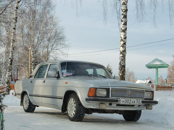 Седан ГАЗ-3102. Дивеево.18.12.2011