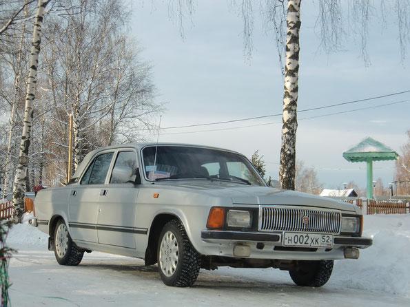 Седан ГАЗ-3102. Дивеево.18/12/2011