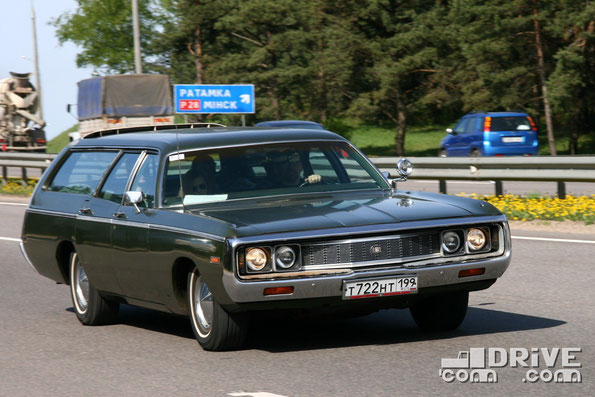 Chrysler Town&Country. Двигатель объемом 6,3 литра