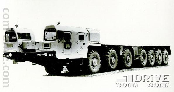 МИНСКИЙ АВТОМОБИЛЬНЫЙ ЗАВОД. МАЗ-7917 - колесное шасси типа 14х12. Количество модификаций: 1. Количество объектов вооружения, базирующихся на данном семействе: 17
