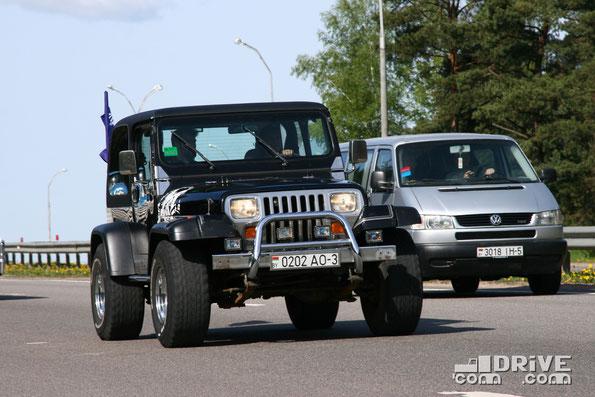 Jeep Wrangler. Двигатель объемом 4,2 литра