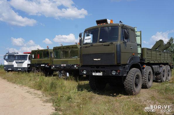 Линейка техники МЗКТ. Пресс-день к 60-летию завода. 24/07/2014