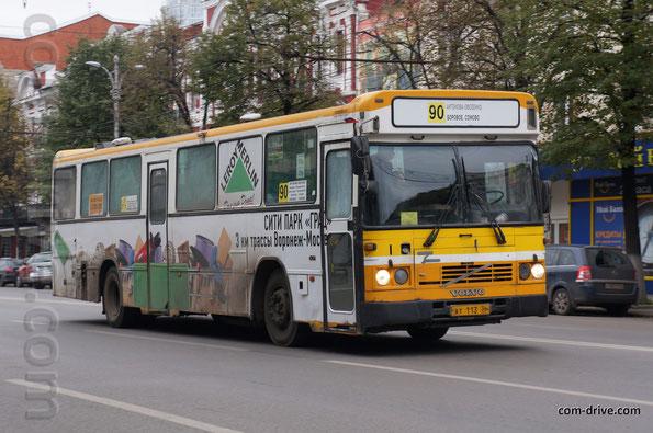 Автобус Saffle на шасси Volvo B10M-60. Воронеж. 04.10.2013
