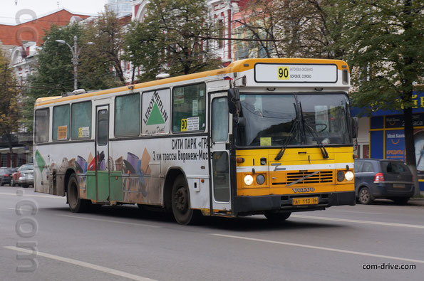 Автобус Saffle на шасси Volvo B10M-60. Воронеж. 04/10/2013