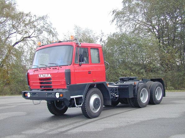 Седельный тягач TATRA T815-260N34 6х6.2. Фото фирменное