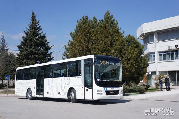 MAN Lion's Intercity C R61. Презентация на заводе MAN в Анкаре (Турция). 25/03/2015