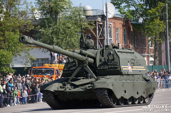 Самоходная артилерийская установка 2С19М2 Мста-С