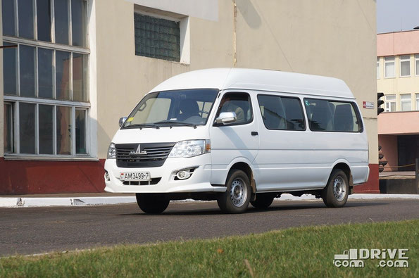 Микроавтобус МАЗ 182010 Ника. Завод МАЗ. 27/03/2014
