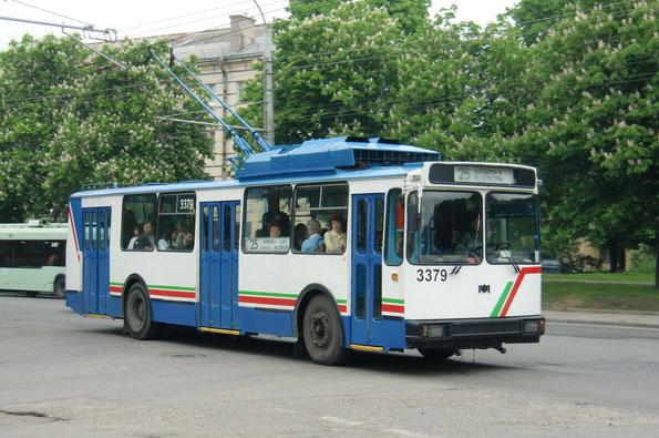 """Троллейбус """"мод.101ПС"""", 2001 года. Заводской №511. Минск. 19/05/2010"""