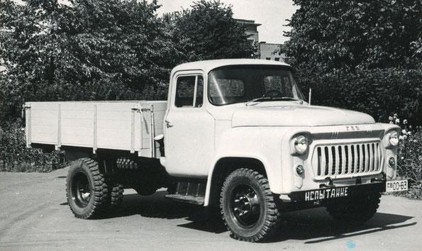 Грузовой автомобиль ГАЗ 56. Фото архивное