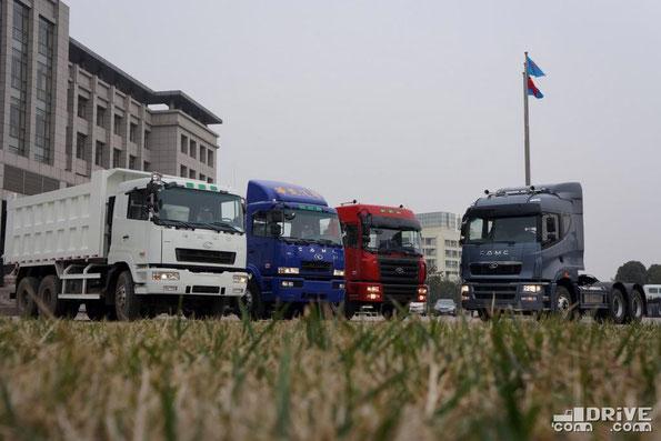 Модельный ряд компании CAMC Automobile Co., Ltd. Китай. 29.02.2012